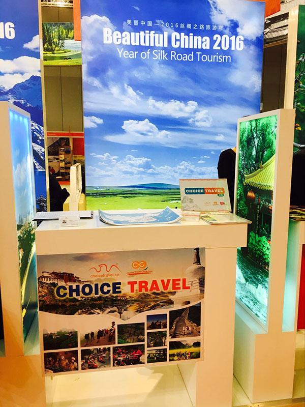 Choice at travel shows